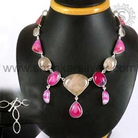 Sterling Silver Necklaces  NKCB1038-2