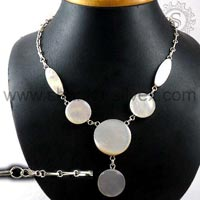 Sterling Silver Necklaces  NKCB1045-2