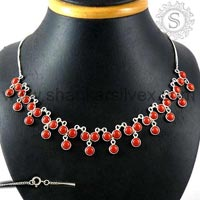 Sterling Silver Necklaces NKCB1065-6