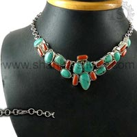 Sterling Silver Necklaces NKCB1069-2