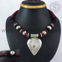 Sterling Silver Necklaces NKPS1044-1