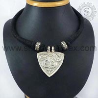 Sterling Silver Necklaces NKPS1045-1
