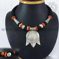 Sterling Silver Necklaces NKPS1047-1