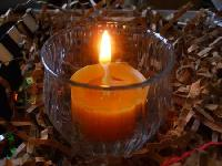 Vanilla Beeswax Candle