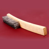 Wooden Handle Steel Wire Brush