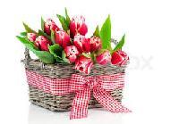 Romantic Flower Basket