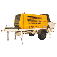 Concrete Line Pump - Diesel Drive