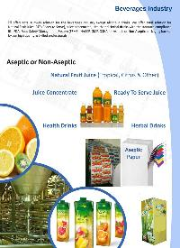 Fruit Juice, Milk Treatment, Processing Plants