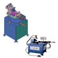 semi automatic tube notching machine