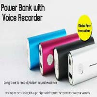 Spy Power Bank Voice Recorder