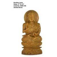 Sandalwood Buddha Statue