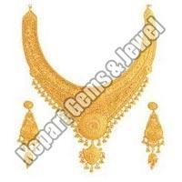 22 Karat Gold Necklace Set