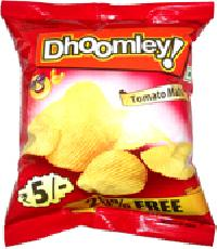 Dhoomley Tomato Masti Potato Chips