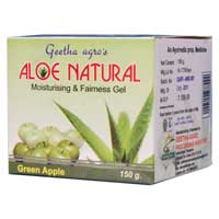 Aloe Natural Gel With Green Apple