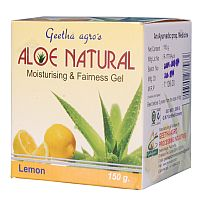 Aloe Natural Gel With Lemon