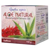 Aloe Natural Gel With Saffron