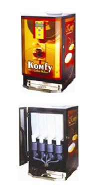 Four Canister Vending Machines