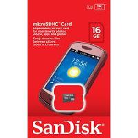 Sandisk Memory Sdhc Cards 16 Gb