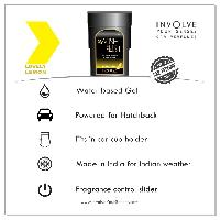Car Air Freshener: Involve Wishlist Lemon
