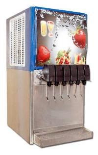 6 Valve Soda Fountain Machine