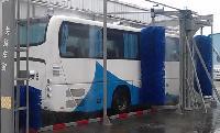 bus washing system