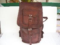 Goat Leather Travel Backpack