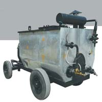 trolley mounted bitumen sprayer machine