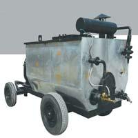 trolley mounted bitumen sprayer machine