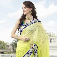 Royal Look Indian Designer Bollywood Saree
