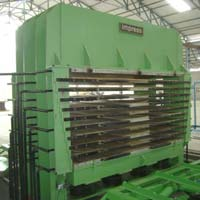Hydraulic Plywood Press