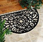 Wrought Iron Rubber Mat