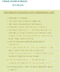 Commercial Business Visit Visa