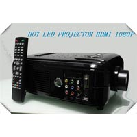 Hdtv projector manufacturers suppliers exporters in india for Small tv projector