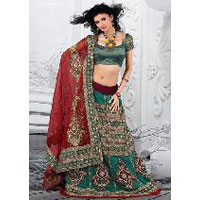 Desinger Party Wear Indian Wedding Lehenga