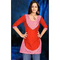 Designer Cotton Kurti 506