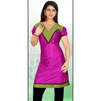 Dyed Cotton Kurti 516