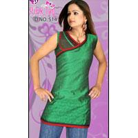 Jacquard Cotton Kurti 514