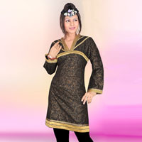 Party Wear Cotton Kurti (515)
