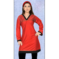 Party Wear Cotton Kurti (531)