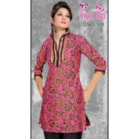 Printed Cotton Kurti 501