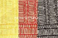 Bagru Print Curtain Fabric and Curtains