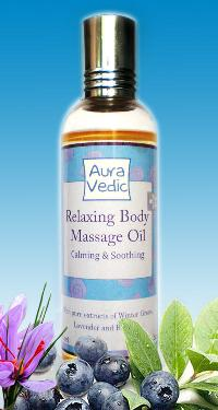Relaxing Body Massage Oil