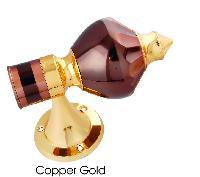 Brass Curtain Lotus Bracket Copper Gold