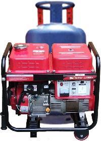 Gastech Brand 4.5 KVA Petrol LPG Fuel Portable Generator