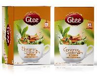 GTEE Green Tea Bags-Cinnamon & Cardamom 25 Tea Bags