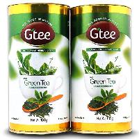 GTEE Green Tea Leaves Can -100gms