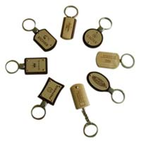 Promotional Wooden Key Chains