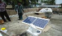 Solar Sewing Machine