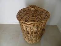 Cane Rattan Basket