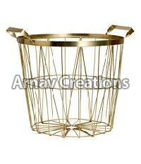 Brass Baskets
